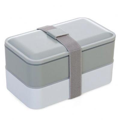 JKMN'S Brindes Promocionais - Marmita de plastico com 2 compartilhamentos e talheres