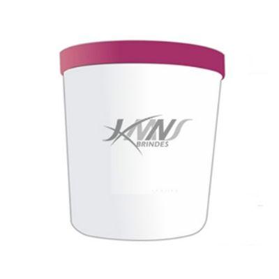 JKMN'S Brindes Promocionais - Pote para ração personalizado com tampa.