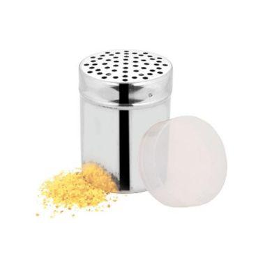 JKMN'S Brindes Promocionais - Queijeira Inox com tampa plástica 7cm
