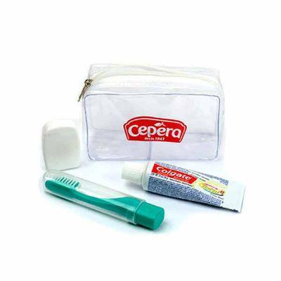Kit de higiene bucal - Reina Brindes Promocionais