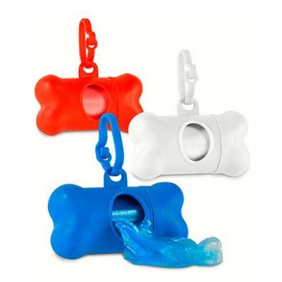 Kit de Higiene para Cachorro. PP. Contém 20 sacos em PE. Porta-saco: 82 x 48 x 41 mm | Sacos PE: ...