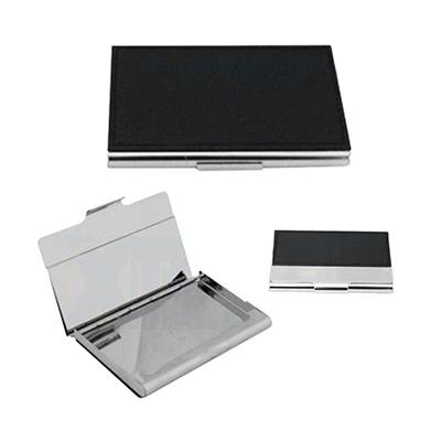 Reina Brindes Promocionais - Porta cartão em metal.