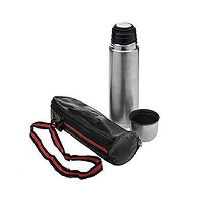 reina-brindes-promocionais - Garrafa térmica com bolsa