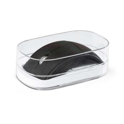 Mouse wireless dobrável 2.4G. ABS. Acabamento emborrachado. Incluso 2 pilhas AAA. Em caixa transparente. 60 x 112 x 20 mm | Caixa: 75 x 130 x 44 mm - Expresso Brindes