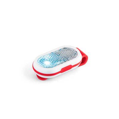 capital-brindes-e-cia - . ABS. Com 2 LEDs, 2 modos de luz e clipe atrás. Incluso 2 pilhas CR1220. 30 x 61 x 16 mm