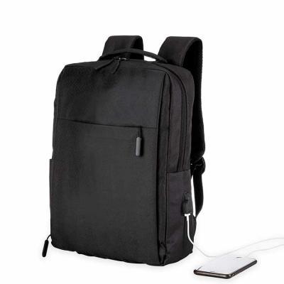 Mochila para notebook com USB Preta