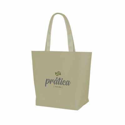 Ideia e Costura - Sacola de nylon 600g medidas: 43cm de largura x 34cm de altura x 15cm de profundidade - Diferenciais: sacola resistente, durável, o cliente escolhe a...