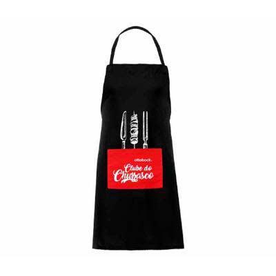 ideia-e-costura - Avental de brim com bolso