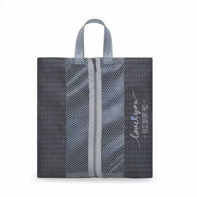 Ideia e Costura - Porta chinelos de nylon com tela
