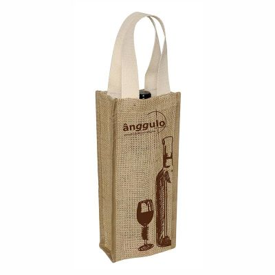 ideia-e-costura - Porta vinho juta