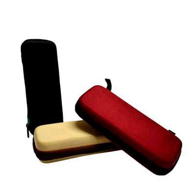 optitex - Estojo em EVA termo moldado, formato slim, possibilidades de bolsos e berços internos diversos.  Medidas: 175 x 35 x 65 mm