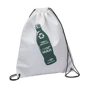 master-bolsas - Mochila saco em pet branco