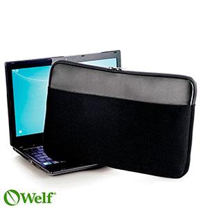 """3bf57784ee740 Capa para notebook 15"""" em neoprene preto - 119781   Portal Free Shop ..."""