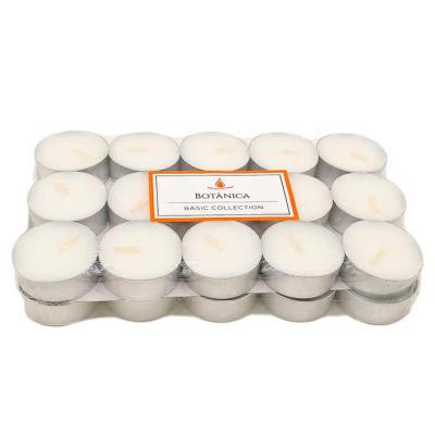 botanica-velas - Kit com 30 velas brancas para rechaud ou porta-velas Sem aroma Opção de personalização