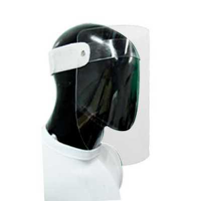 Máscara de proteção facial em policarbonato