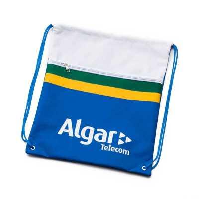 Saco mochila em nylon emborrachado - Multipacks Brasil