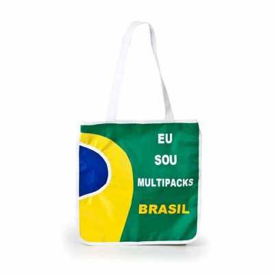 multipacks-brasil - Sacola com bolso para squeeze