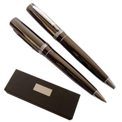 Brindes Oliveira - Conjunto de caneta e lapiseira