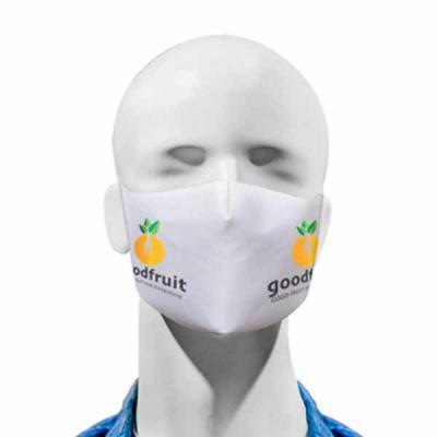 Máscara com logomarca