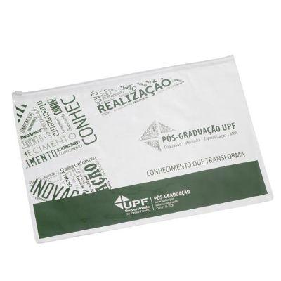 Magia Brindes - Pasta zip zap personalizada.