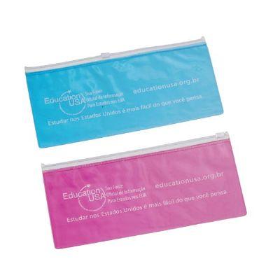 magia-brindes - Porta-voucher de PVC personalizado.