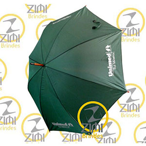 zimi-brindes - Guarda-chuva 1.20m diâmetro, acionamento automático, tecido nylon resinado