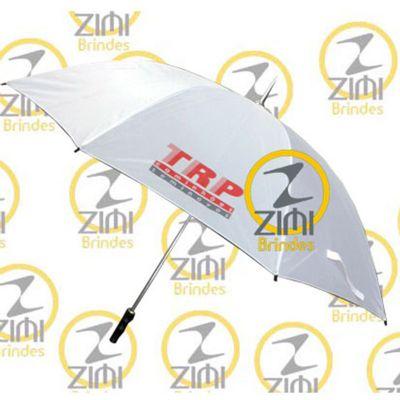 zimi-brindes - Guarda-chuva modelo portaria, cabo central em aço, acionamento manual
