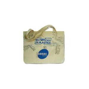 Eco bag com gravação personalizada.