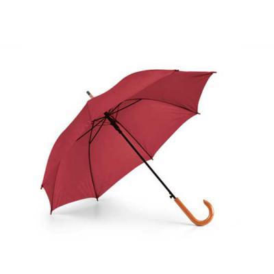 zimi-brindes - Guarda-chuva importado. Poliéster 190T. Pega em madeira. Abertura automática.