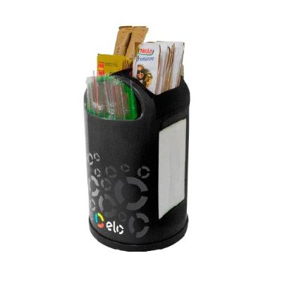 zimi-brindes - Porta guardanapo, canudo e saches personalizado.