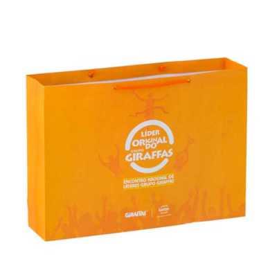 Rota das Embalagens - Sacolas de papel impressa