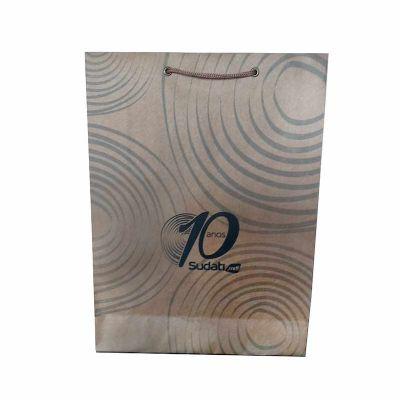 rota-das-embalagens - Sacola personalizada em papel Kraft 170 gramas