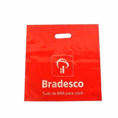 Rota das Embalagens - Sacola plástica impressa 01 cor