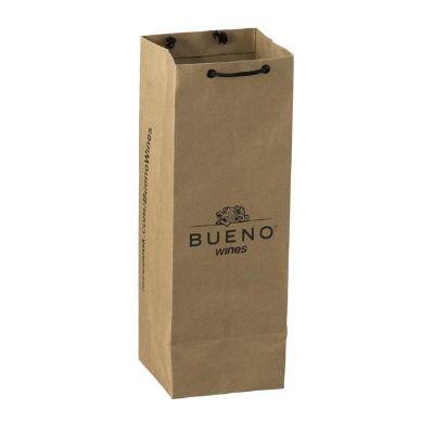 Rota das Embalagens - Sacola de papel kraft personalizada