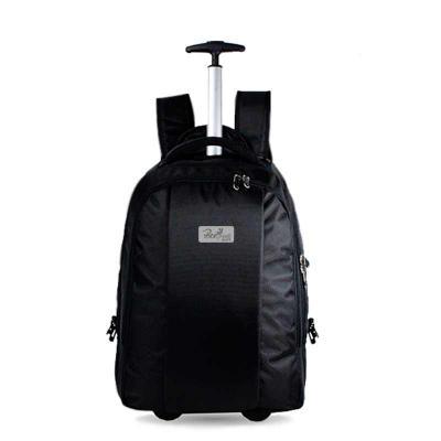 O modelo BVJH01 é uma opção elegante e prática. Com vários compartimentos internos com porta notebook e compartimento externo, puxador prata e opção p... - Beetrade Gift