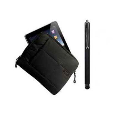 Beetrade Gift - Case Targus, caneta Stylus AMM01 e Película AWV1231: 1 Grav Cortesia Silk 01 cor no Case