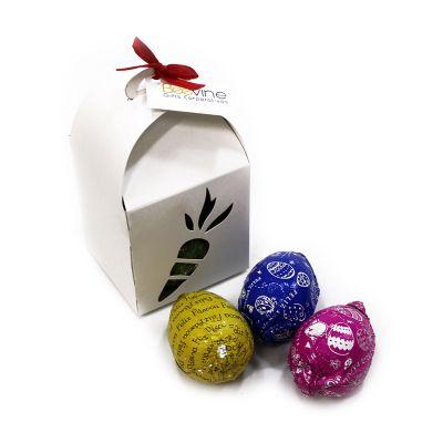Beetrade Gift - Bau cenoura com mini ovinhos.