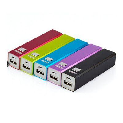 Beetrade Gift - Carregador portátil USB. Possui conector USB e conector Micro USB, compatível com todos os dispositivos que possuem carregamento via USB/Micro USB
