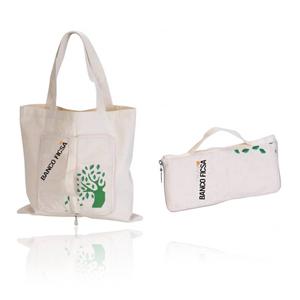 Beetrade Gift - Eco Bag em lonita 2 em 1, é carteira e sacola!