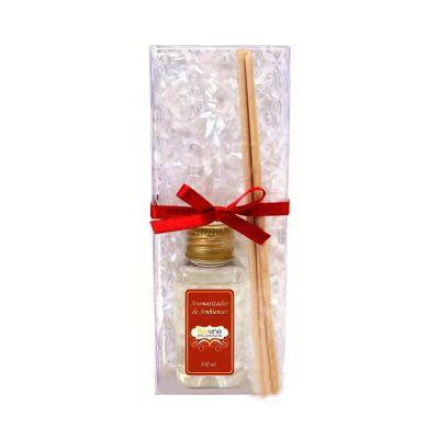 beetrade-gift - Kit Aromatizador, contém: aromatizador de ambientes, 3 varetas, uma embalagem em acetato fechada com fita e uma personalização em adesivo