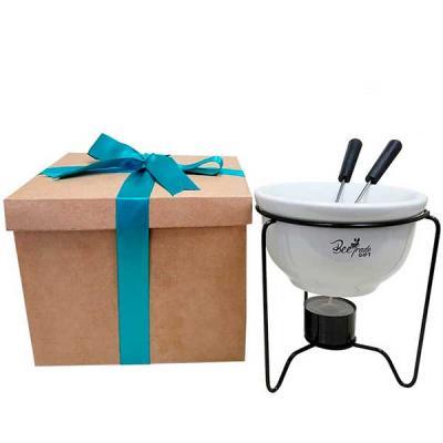 Kit compondo Fondue e caixa
