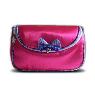 beetrade-gift - Kit Dia das Mulheres - Necessaire com frasqueira em tecido acetinado.