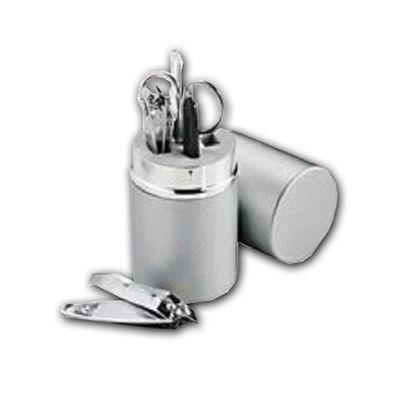 Kit Manicure em aço/alumínio com 5 peças - Beetrade Gift