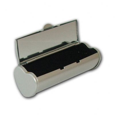 beetrade-gift - Kit Dia das Secretárias - Porta batom com formato de coração e espelho.