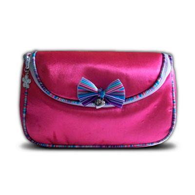 Kit Dia das Mães - Nécessaire/Frasqueira em tecido acetinado. - Beetrade Gift