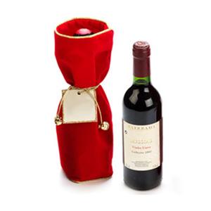 Beetrade Gift - Saco de veludo com 1 vinho tinto Português 375ml.