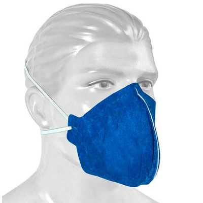 Máscara de proteção e purificação de ar sem válvulas