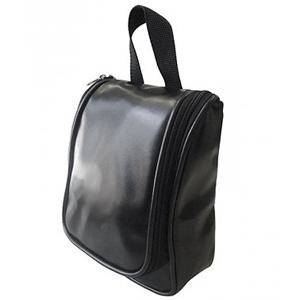 Beetrade Gift - Nécessaire de nylon com compartimentos internos em tela e suporte para pendurar.