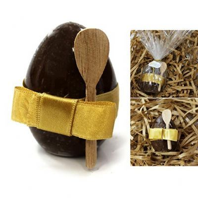 Kit mini ovo de cristal brigadeiro - Beetrade Gift
