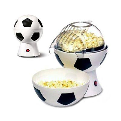 beetrade-gift - Pipoqueira em forma de bola de futebol que funciona com o sistema de ar quente.